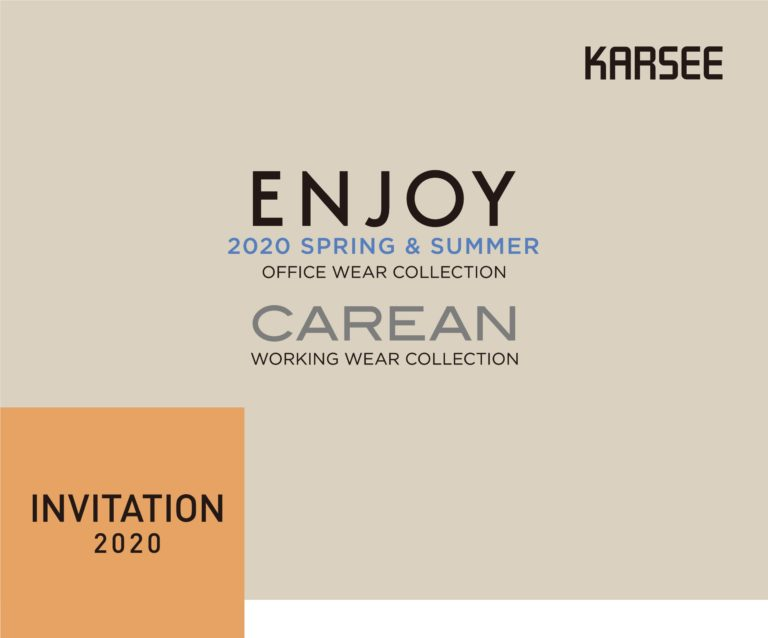 关于【2020 SS】 ENJOY OFFICE WEAR COLLECTION/ CAREAN WORKING WEAR COLLECTION的通知